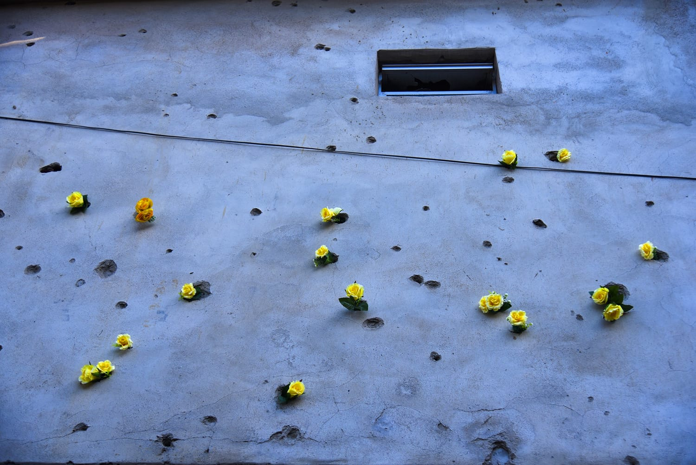 Bullet Holes, Favela Mare, Rio de Janeiro