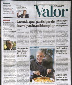 Valor Econômico, Brasil