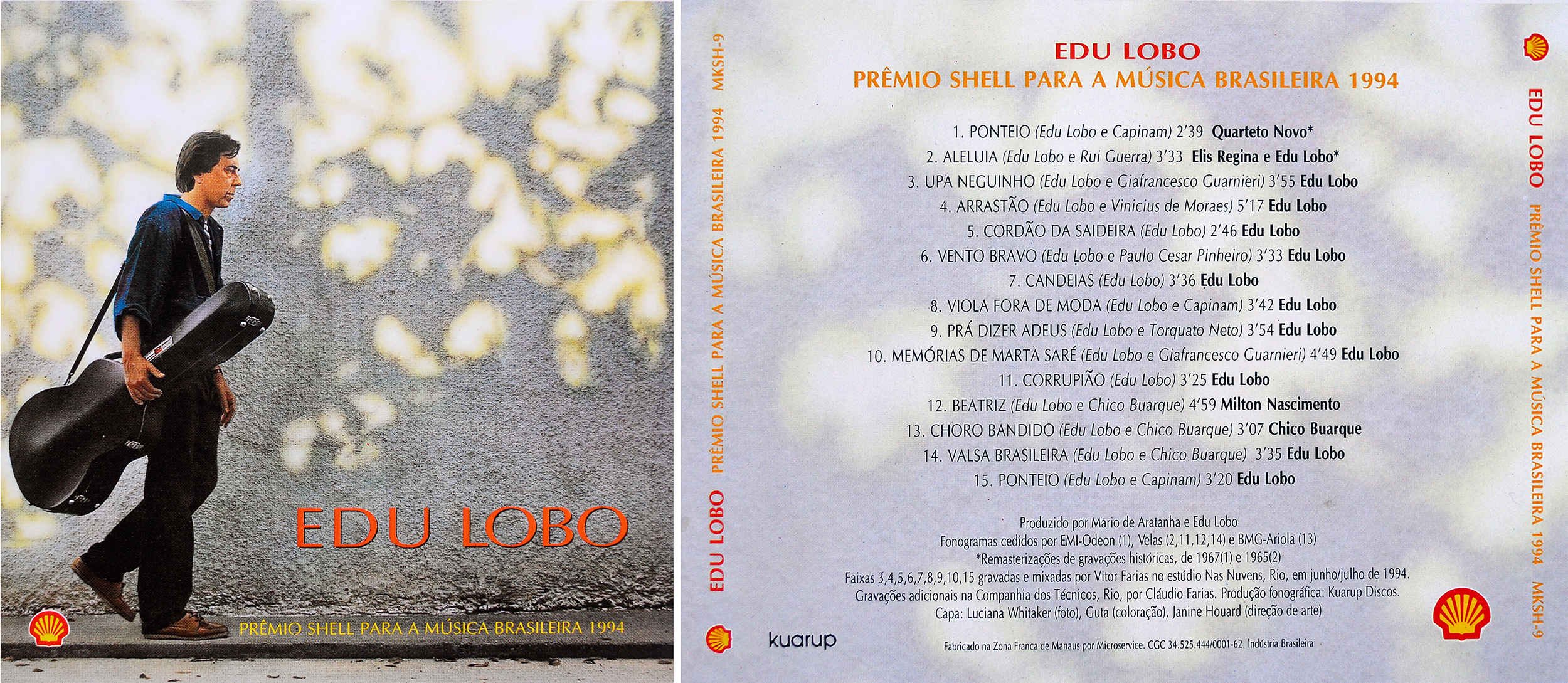 CD Edu Lobo, Brazil 1994