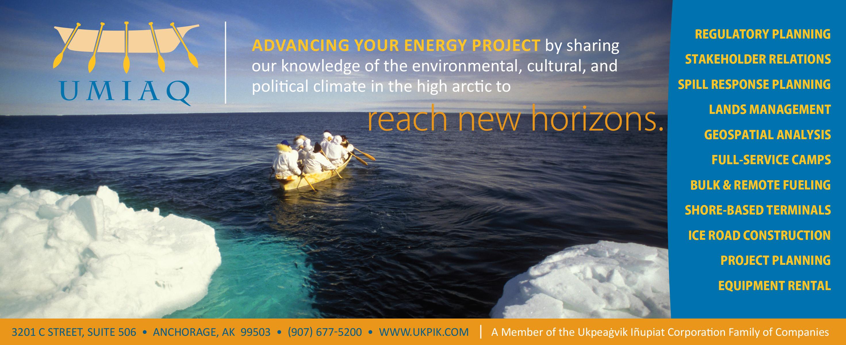 Billboard for UMIAQ Environmental, LLC