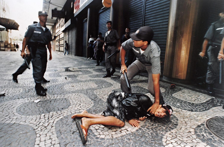 Street vendor protest, Downtown, Rio de Janeiro