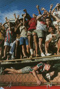 Soccer fans, Rio de Janeiro, RJ