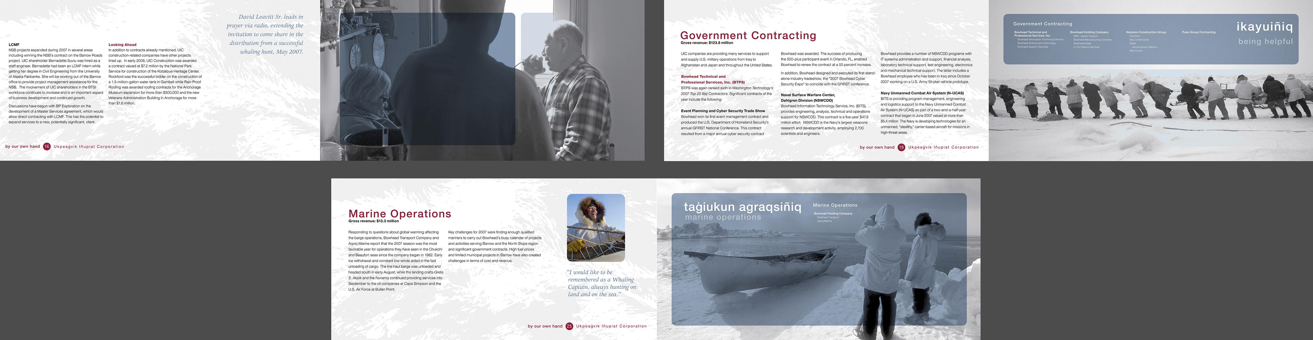Ukpeagvik iñupiat Corporation Annual Report
